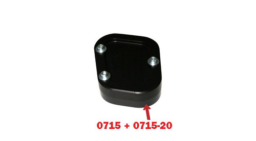 Sidestand Enlargement Plate with riser plate  for BMW R1200GS (06-12) & R1200GSADV (06-13)