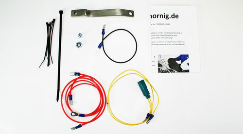 Nautilus Horn kit for R1200GS (08-12) Very Loud - Includes mounting kit