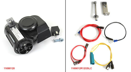 Nautilus Horn kit for R1200GSLC 13+ & R12GSADV 14+ Very Loud - Includes mounting kit