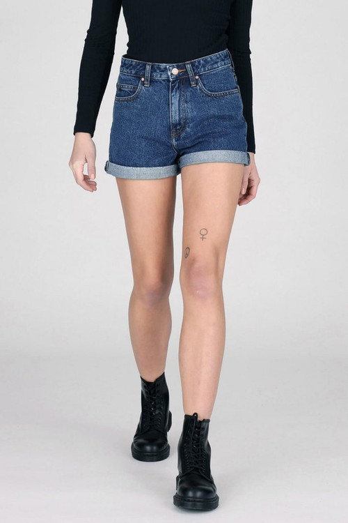 Dr Denim Jenn Shorts - Mid Retro