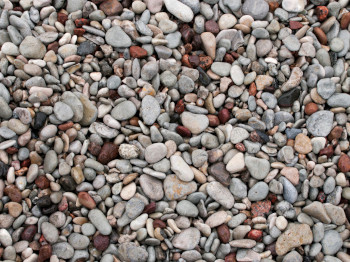 scottish beach pebbles and decorative stones