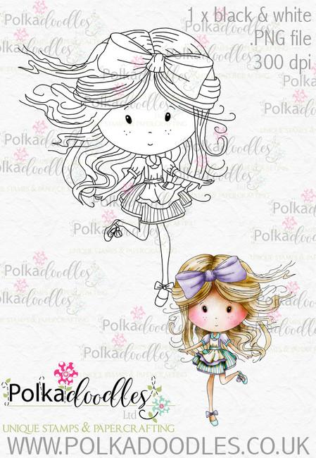 Winnie Wonderland Printable Digital Stamp Download