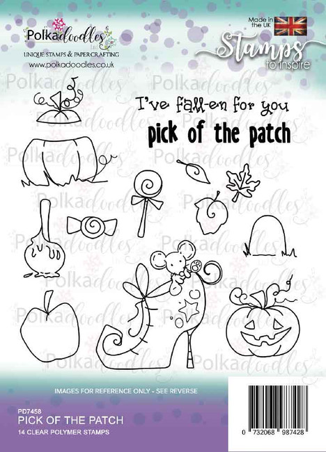 Pick of the Patch - Halloween clear stamp set