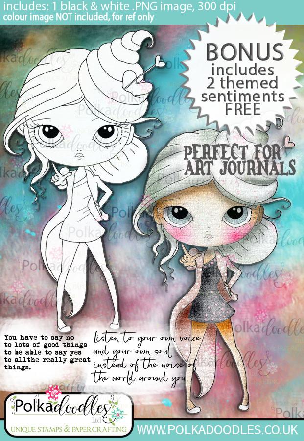 Ula Be strong- Life Journal craft digi download