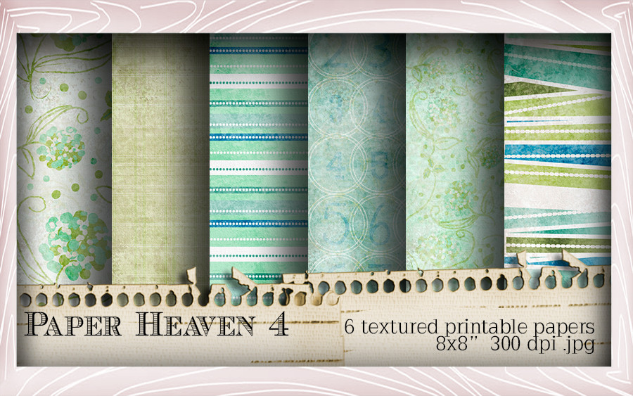 Paper Heaven 4 elements Winnie Special Moments...Craft printable download digital stamps/digi scrap kit