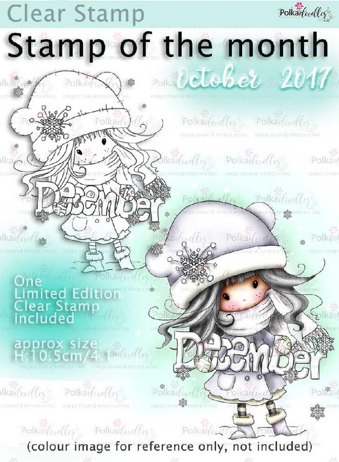 December Winnie Clear Stamp