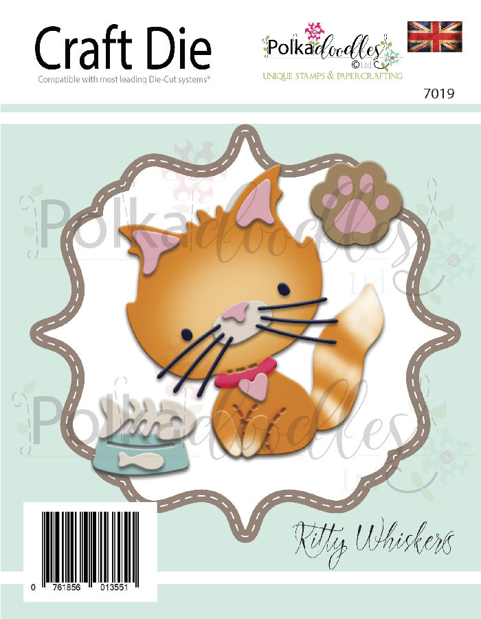 Kitty Whiskers Great Outdoors Critter Die set