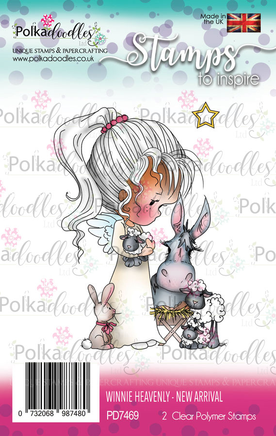 New arrival - Winnie Heavenly Clear Stamp set
