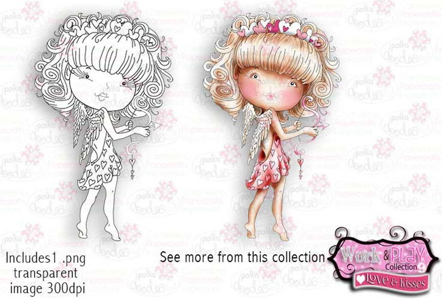 Cupid Digital Craft Stamp download