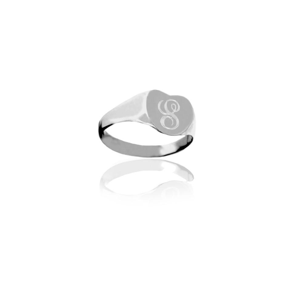 JBD333 Initial Pinky Ring