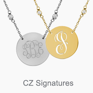 Sparkling CZ Signatures