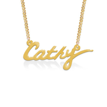 Signature Nameplate Necklace