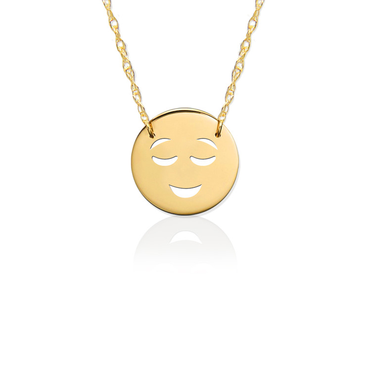 Gold JBD362 Happy Emoji