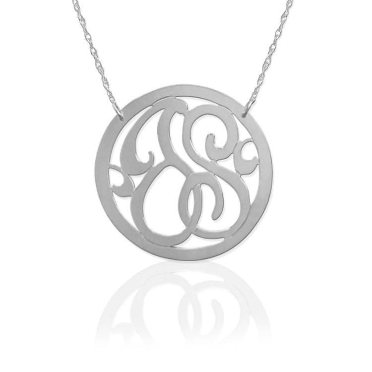2 Initial Circle Monogram