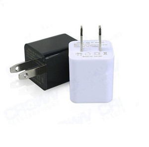 Cellphone Charger with Hidden Audio Recorder USA or EU connection