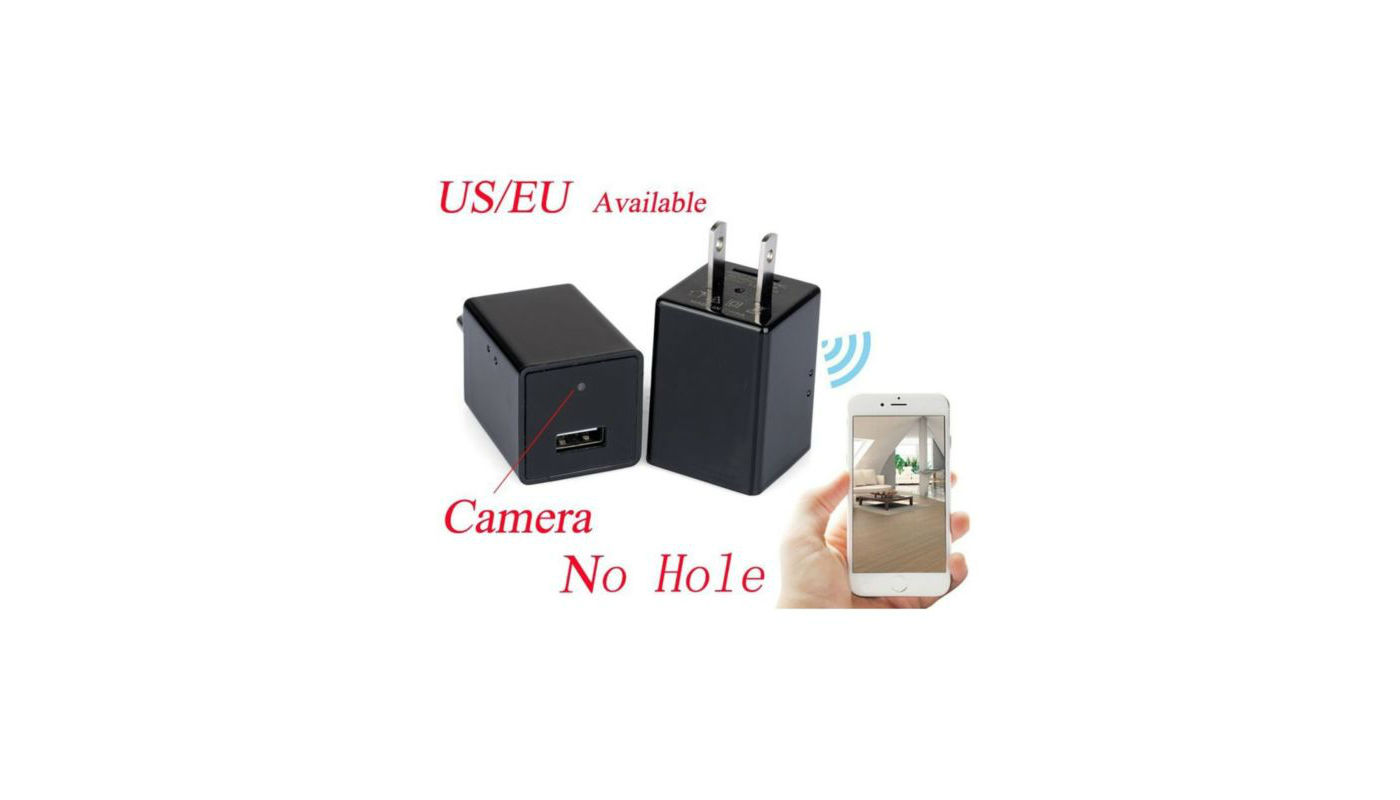 Smart Phone Charger Hidden Camera