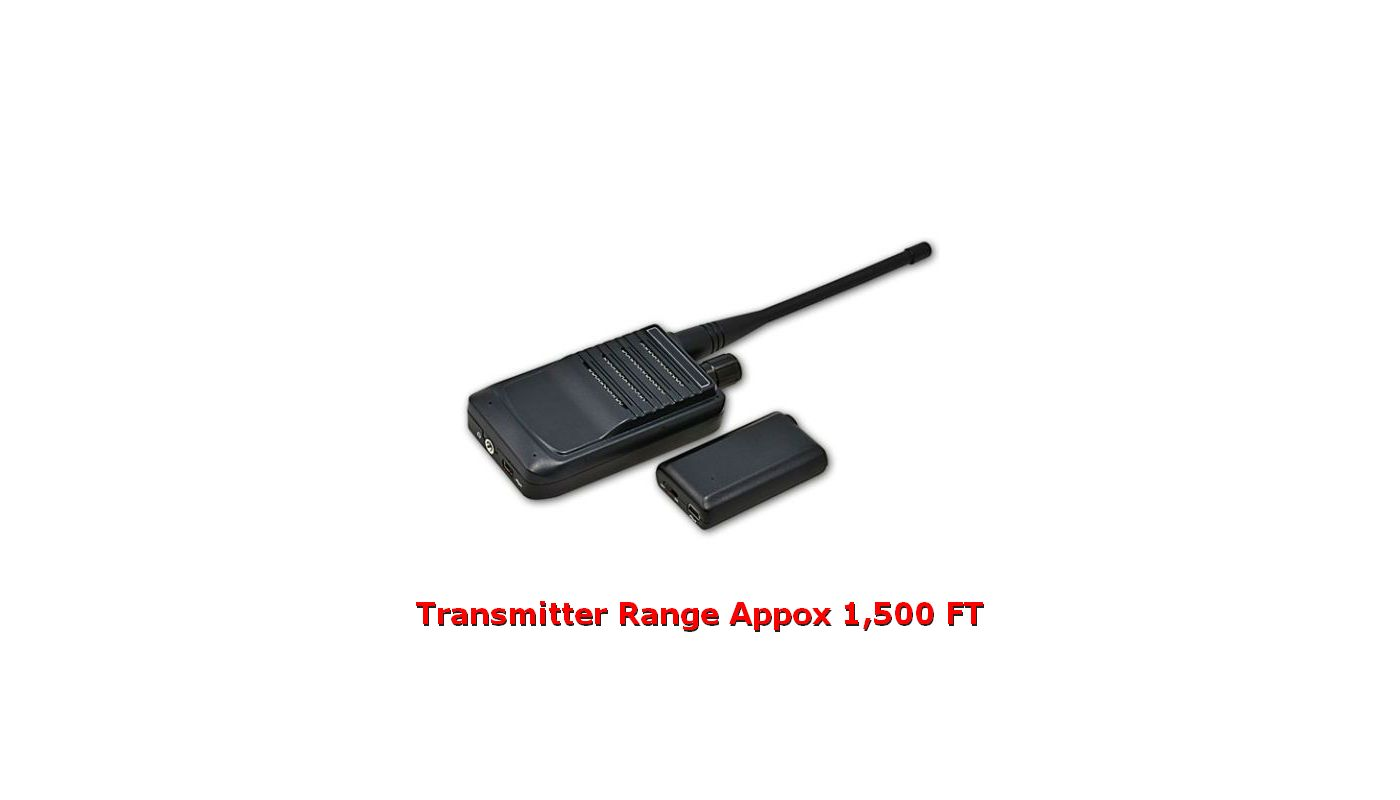Small Audio Transmitter and Receiver