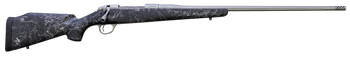 "Fierce Edge 7mm 26"" Titanium Finish Black with Gray Stock w/Titanium Muzzle Brake"