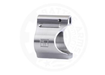 Battle Arms Development Lightweight Low Profile Titanium Gas Block .625 DIA Raw TI Finish