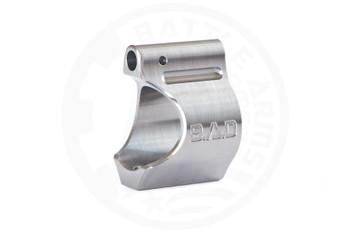"Battle Arms Development Lightweight Low Profile Titanium Gas Block .750"" DIA - Raw TI Finish"