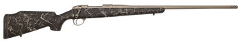 "Fierce Fury 6.5 Creedmoor 24"" Gray and Black w/ Titanium Muzzle Brake"