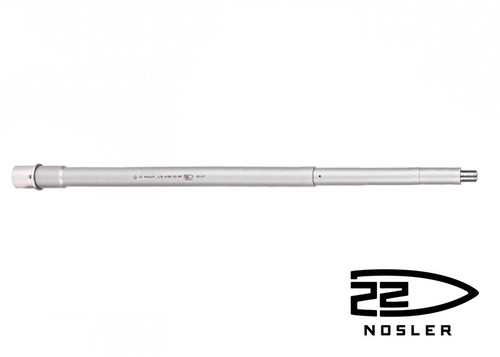 "Ballistic Advantage 18"" .22 Nosler SPR Stainless Steel Rifle Length AR 15 Barrel, Premium Series"