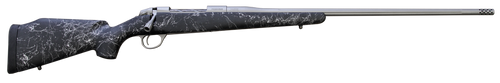"Fierce Edge 300 Win Mag 26"" Titanium Finish Black with Gray Stock w/Titanium Muzzle Brake"