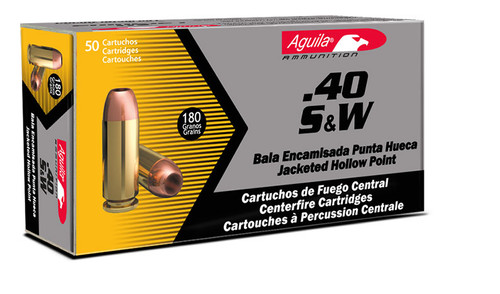 Aguila 40SW 180gr Full Metal Jacket - 50rds