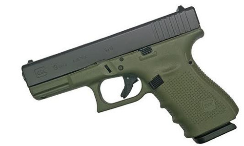 Glock 19 Gen 4 9mm Battlefield Green
