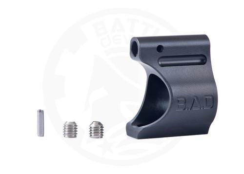 "Battle Arms Development Lightweight Low Profile Titanium Gas Block .750"" Black Ionbond PVD"