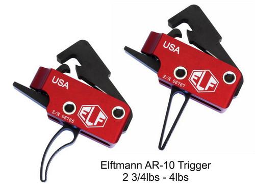 ELF AR-10/308 Trigger AR15 2.75-4lbs Curved Bow