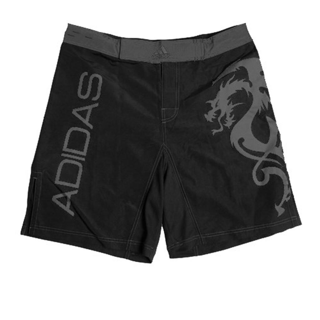 ADIDAS DARK SILVER DRAGON MMA SHORTS