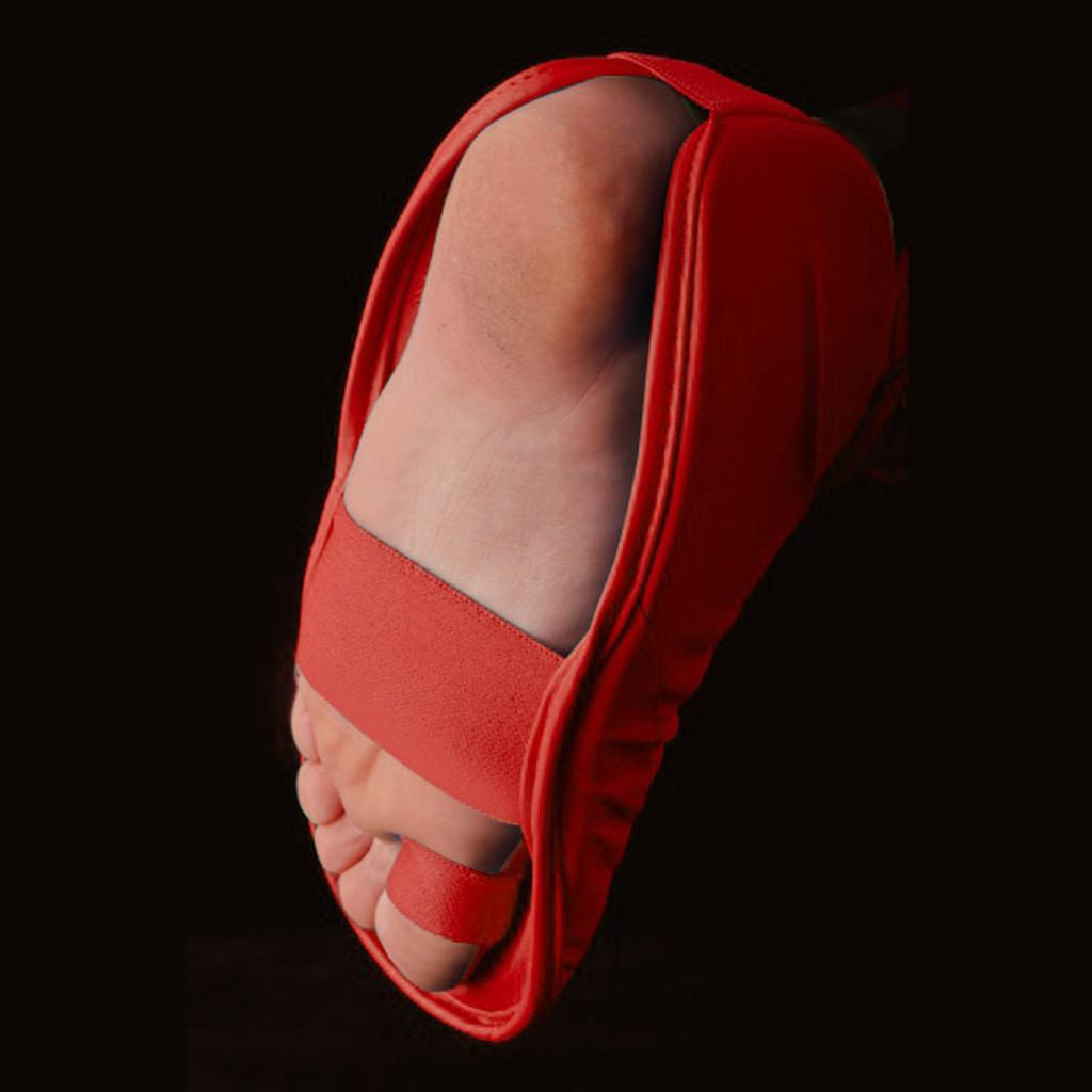 Tokaido WKF Shin and Foot Protector - Red
