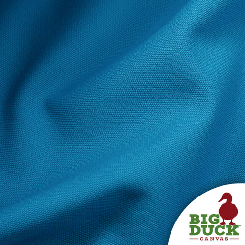 10oz Cotton Canvas Duck Cloth Turquoise (Blue Green) Fabric