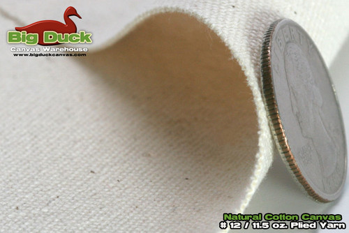 12 48 Quot Cotton Duck Canvas Fabric Roll Natural Wholesale