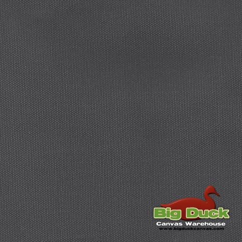 12oz Heavyweight Cotton Duck DARK GREY (Popular Brand FACTORY SECONDS) Wholesale Big Duck Canvas
