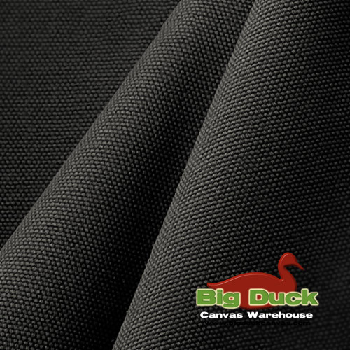Polyester Cotton Canvas Blend in Charcoal Grey Wholesale/Discount at Big Duck Canvas
