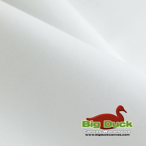 1000 Denier (1000D) Coated Polyester Canvas Rolls - White