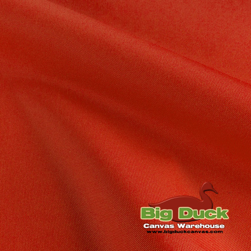 1000 Denier (1000D) Coated Polyester Canvas Fabric - Orange