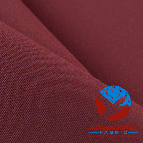 Wholesale Outdoor Furniture Fabric AquaDuck Canvas Wine (Burgundy) Rolls