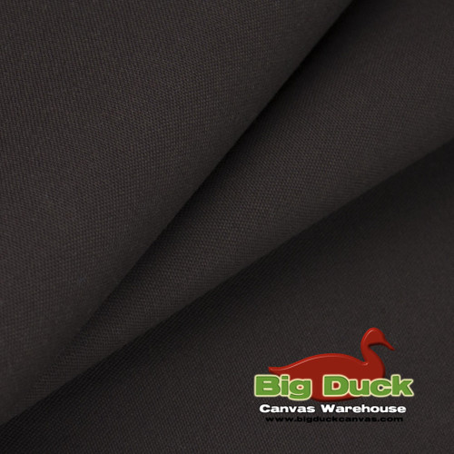 Dark Brown Heavyweight Firm-Hand 100% Ring-Spun Cotton Duck Wholesale Rolls - Factory Seconds