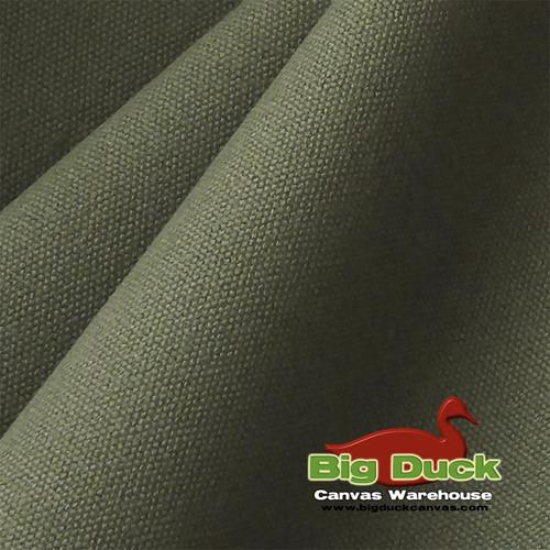 "#10/60"" Cotton Canvas Duck Fabric Online-Olive Drab-Wholesale"