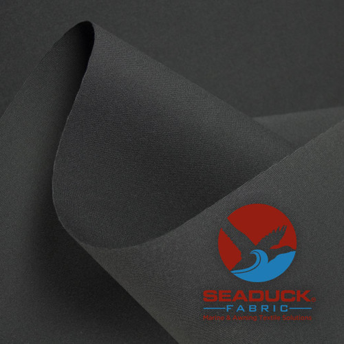 Solution Dyed Acrylic Fabric SeaDuck 60in Roll Online ByTheYard Charcoal Gray