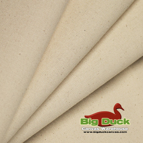 "10oz / 63"" Organic Cotton Canvas Natural"