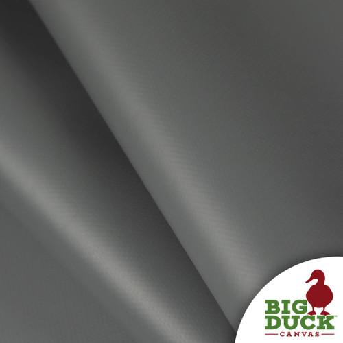 Vinyl Industrial Coated PVC Fire Retardant Waterproof Charcoal Gray