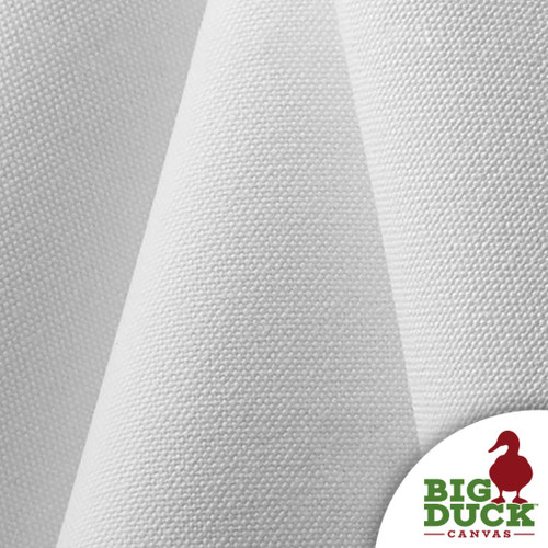 Slipcover Fabric-Preshrunk Cotton Canvas White 12oz White Duck Cloth Wholesale