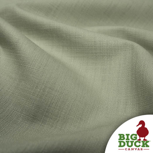 Linen Blend Designer Fabric Budget Priced 54in Rolls Pale Artichoke
