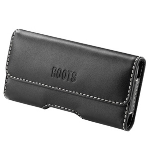 Roots Horizontal Leather Pouch for iPhone 5