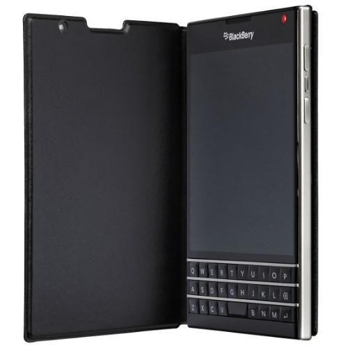 Blackberry Passport Flip Case   Open