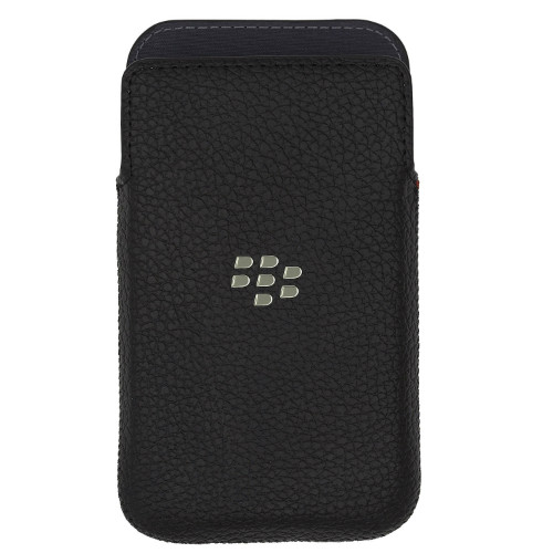 Blackberry Classic Leather Pocket | Front